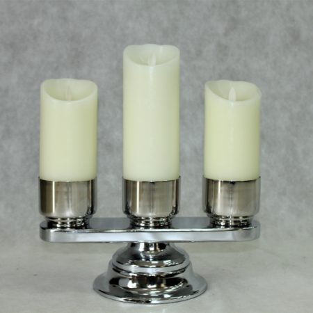 Świecznik ołtarzowy chrom