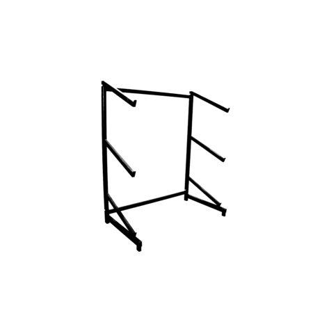 4. Regał do trumien jednostronny