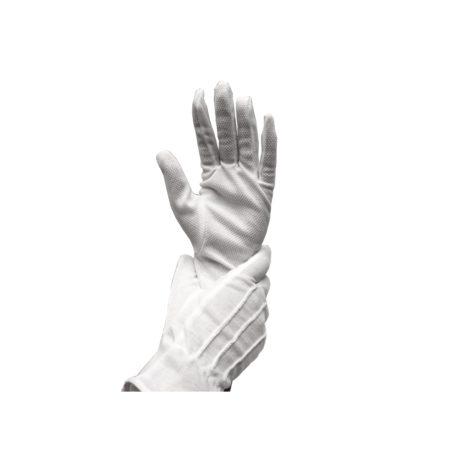 11 rękawiczki białe mikrop