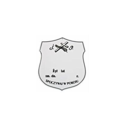 tabliczka 5a biała
